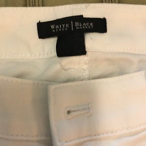 Like new White House blank market white jeans US4